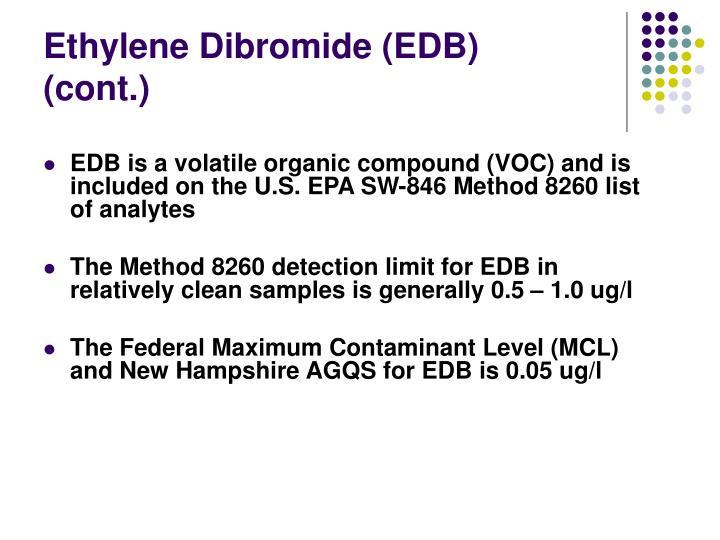 Ethylene Dibromide (EDB)