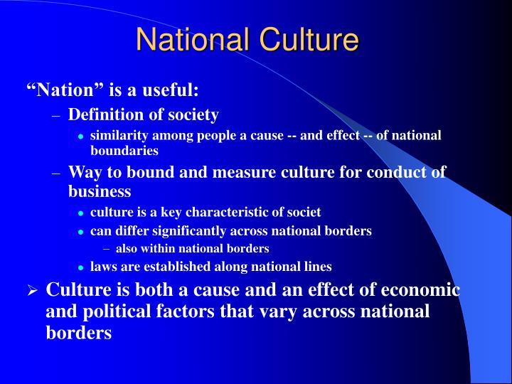 National Culture