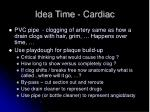 idea time cardiac