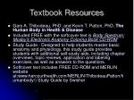 textbook resources1