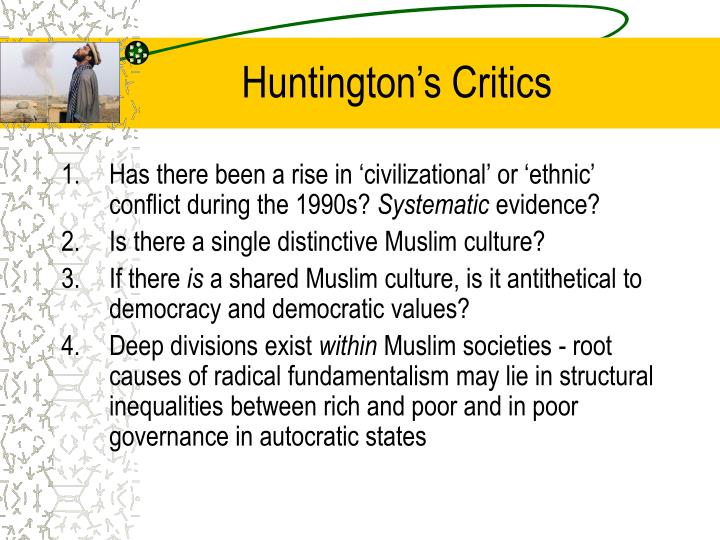 Huntington's Critics
