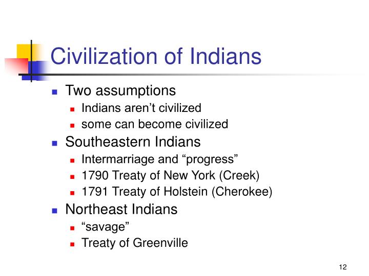 Civilization of Indians