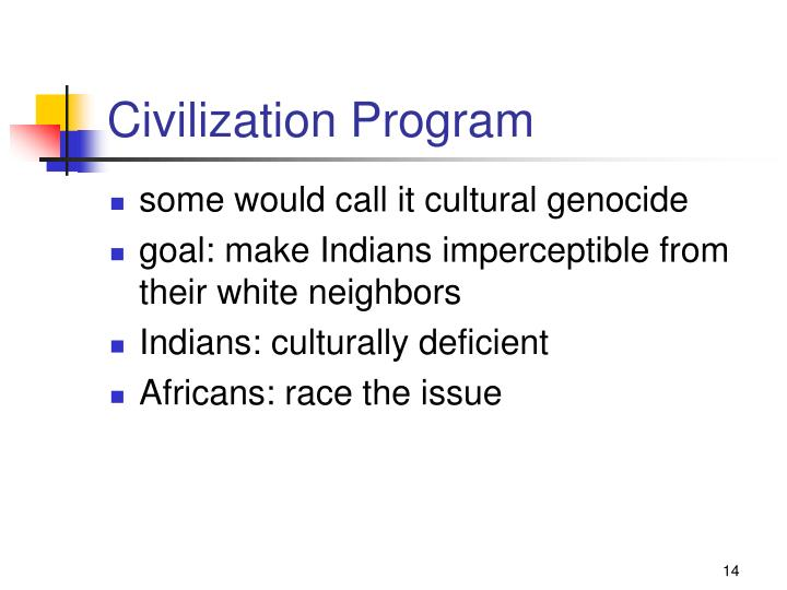 Civilization Program