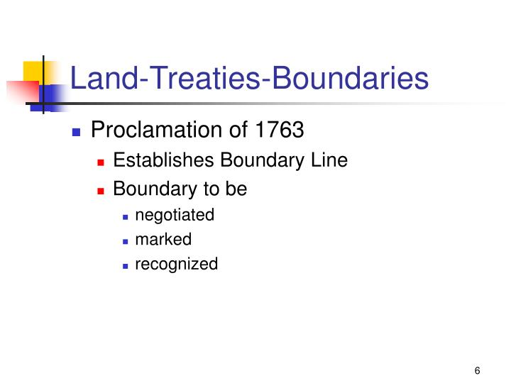 Land-Treaties-Boundaries