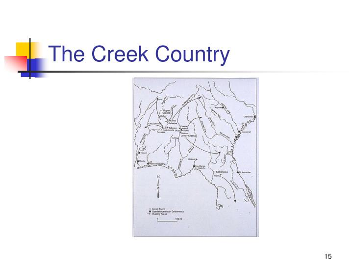 The Creek Country