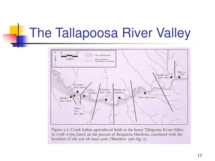 The Tallapoosa River Valley