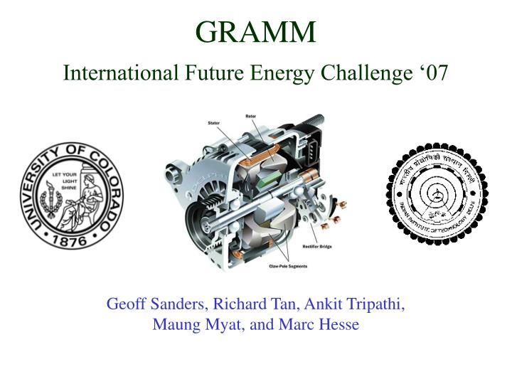 Gramm international future energy challenge 07