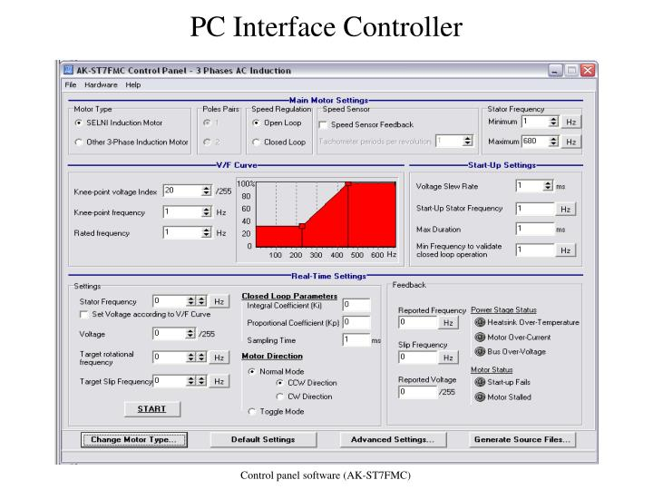 PC Interface Controller