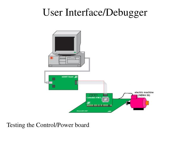 User Interface/Debugger
