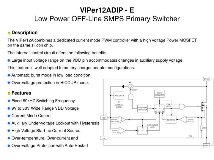 VIPer12ADIP - E