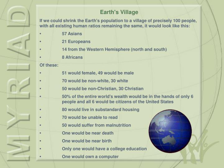 Earth's Village