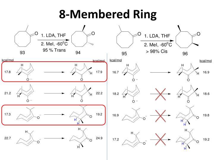 8-Membered Ring