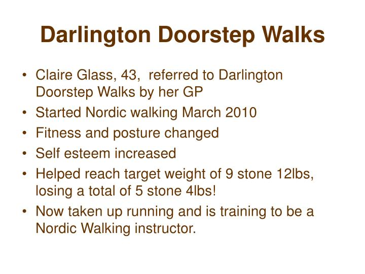 Darlington Doorstep Walks