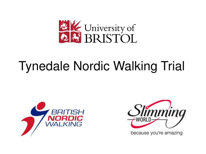 Tynedale Nordic Walking Trial