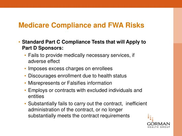 Medicare Compliance and FWA Risks