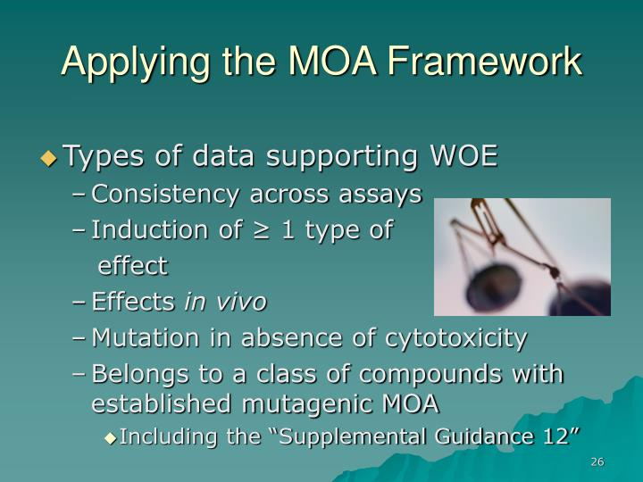 Applying the MOA Framework
