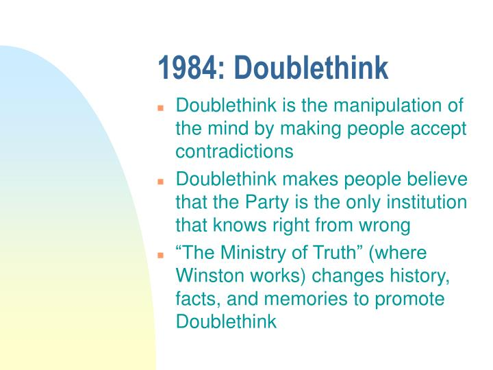 1984: Doublethink