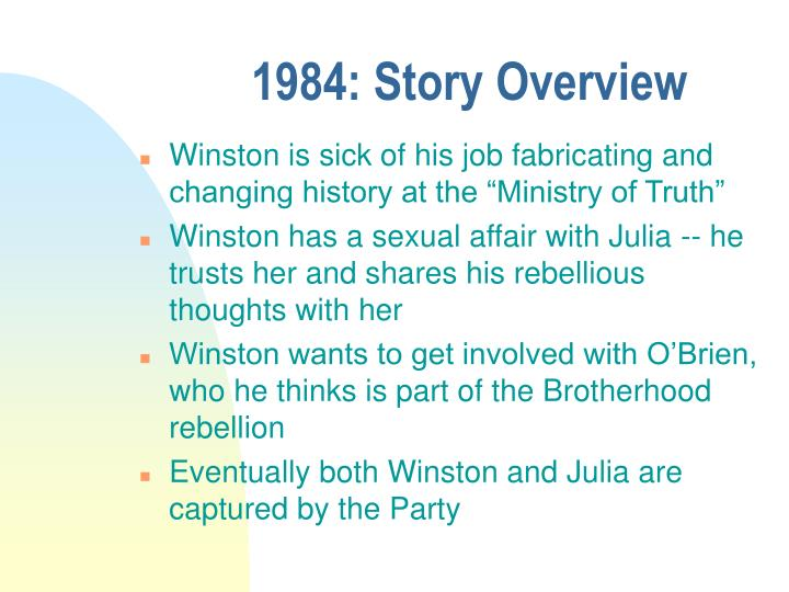 1984: Story Overview