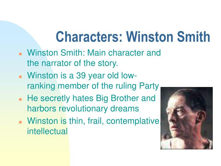 Characters: Winston Smith