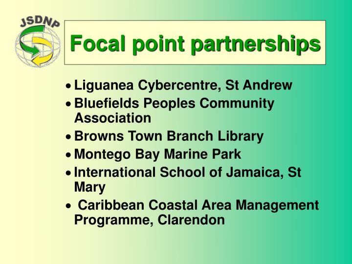 Focal point partnerships