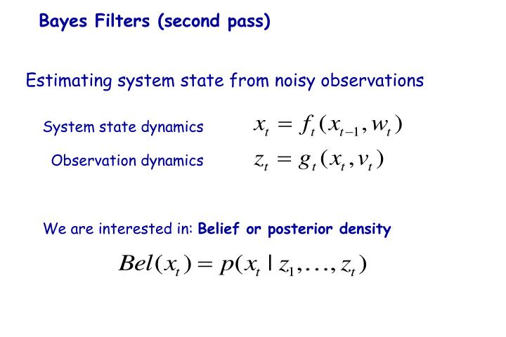 System state dynamics