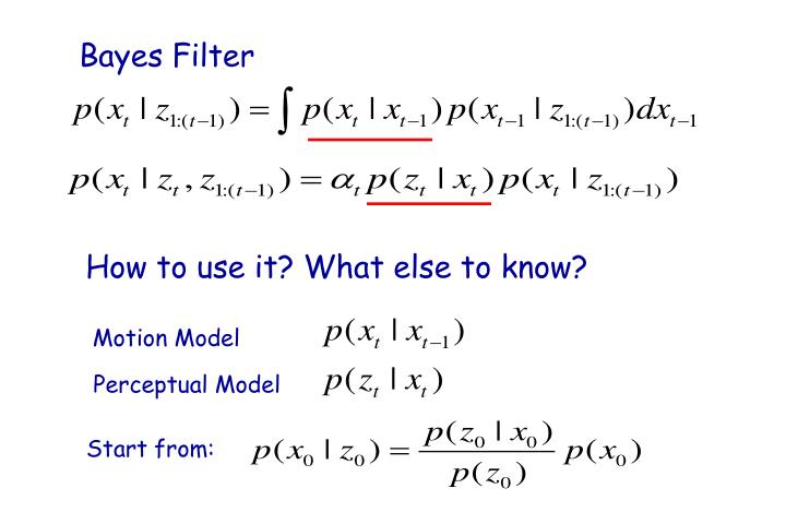 Bayes Filter