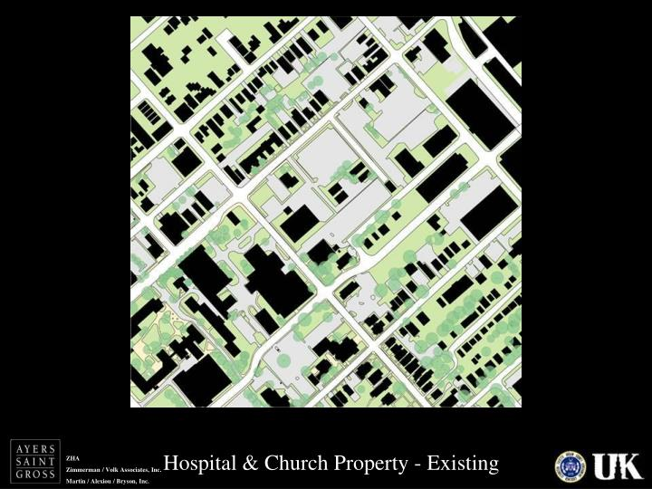 Hospital & Church Property - Existing