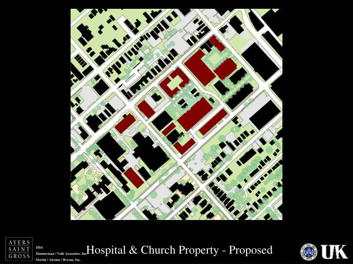 Hospital & Church Property - Proposed