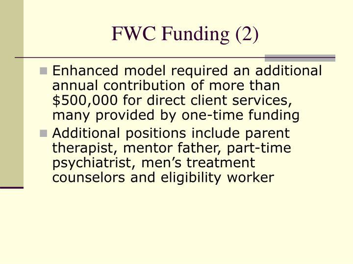 FWC Funding (2)