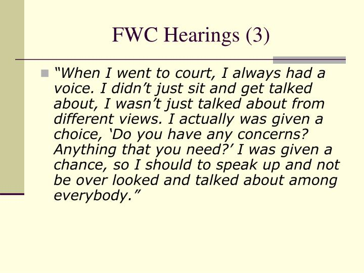FWC Hearings (3)