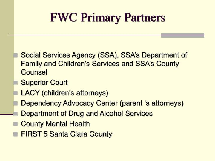 FWC Primary Partners