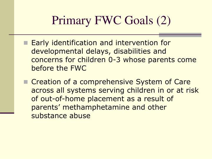 Primary FWC Goals (2)
