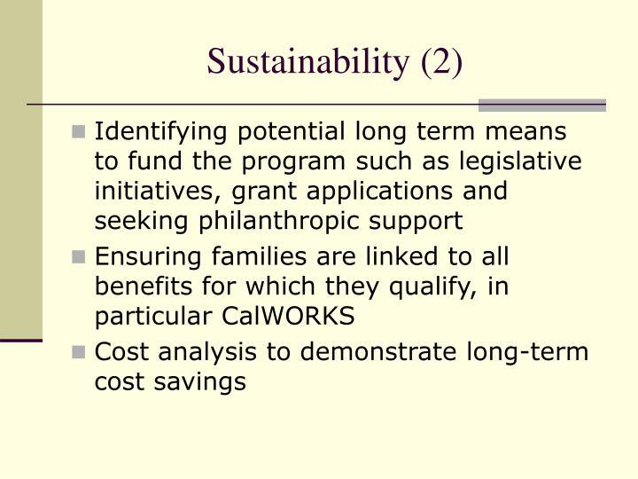 Sustainability (2)