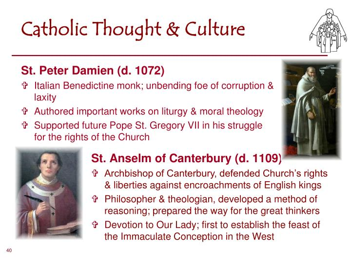 Catholic Thought & Culture