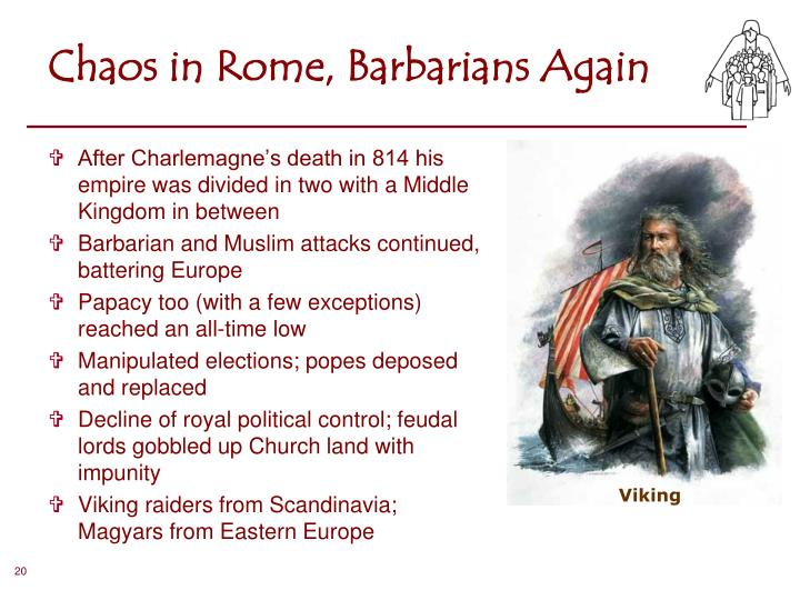 Chaos in Rome, Barbarians Again