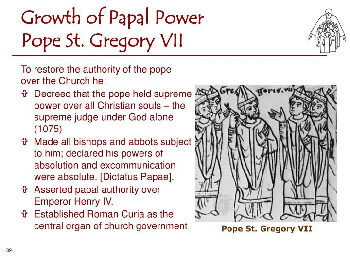 Growth of Papal Power