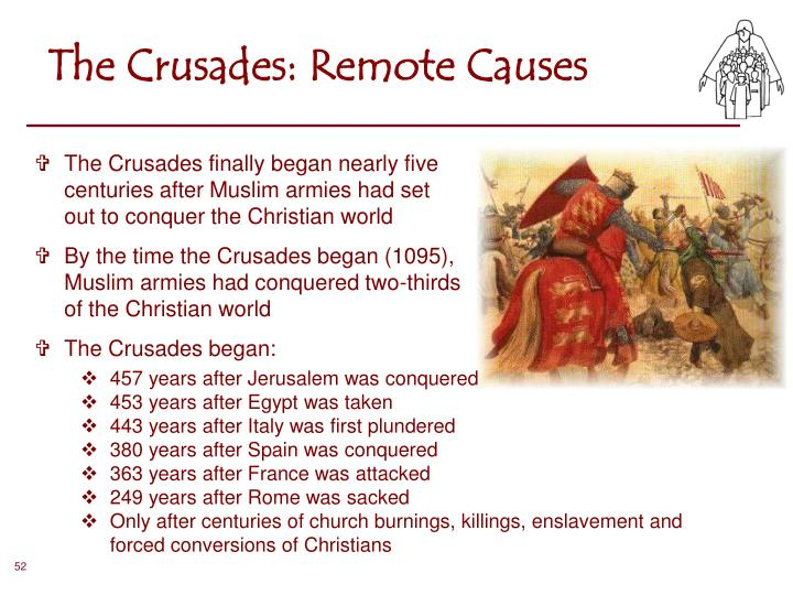 The Crusades: Remote Causes