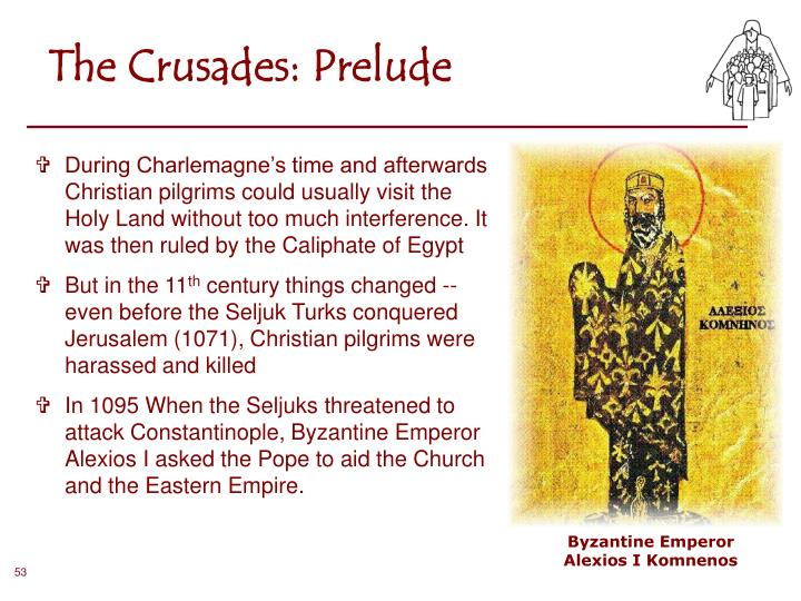 The Crusades: Prelude