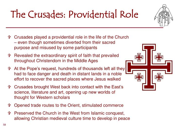 The Crusades: Providential Role