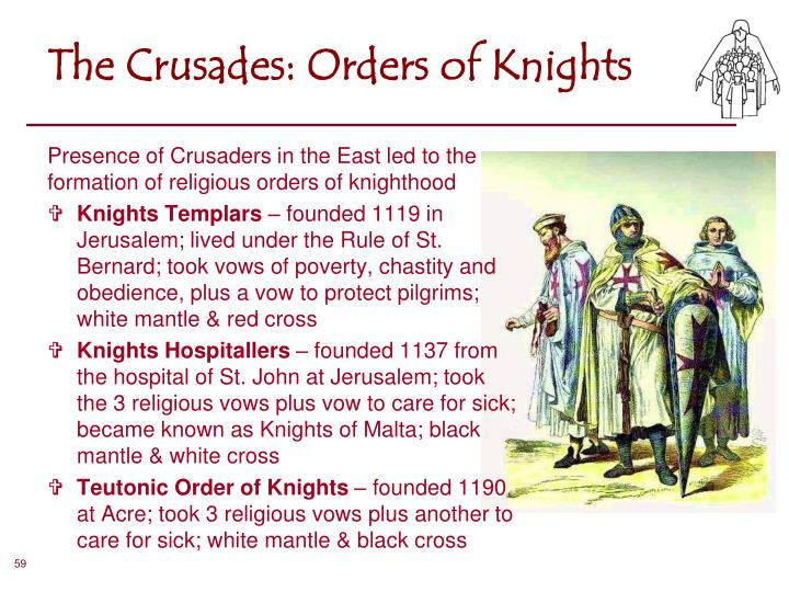 The Crusades: Orders of Knights