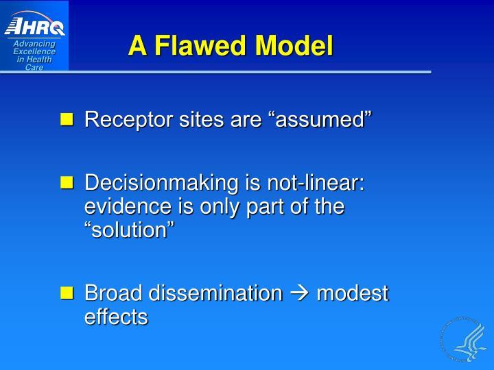 A Flawed Model