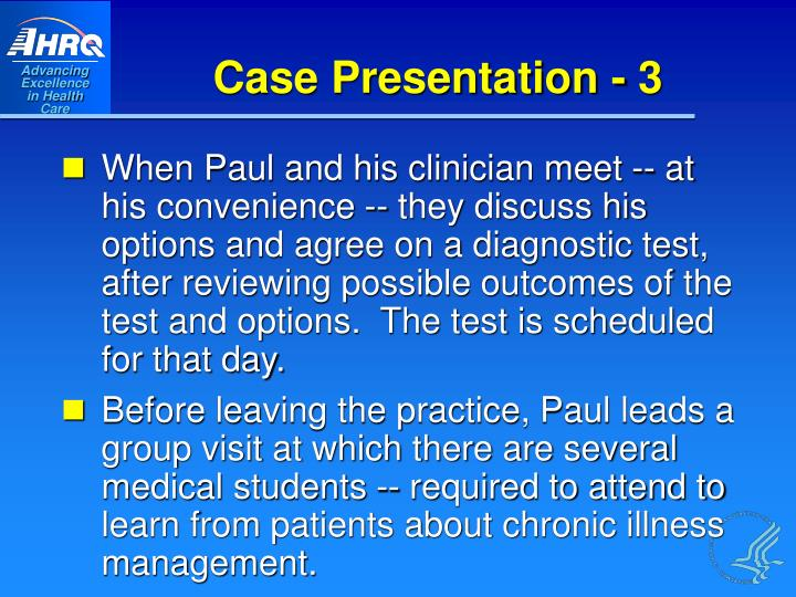 Case Presentation - 3