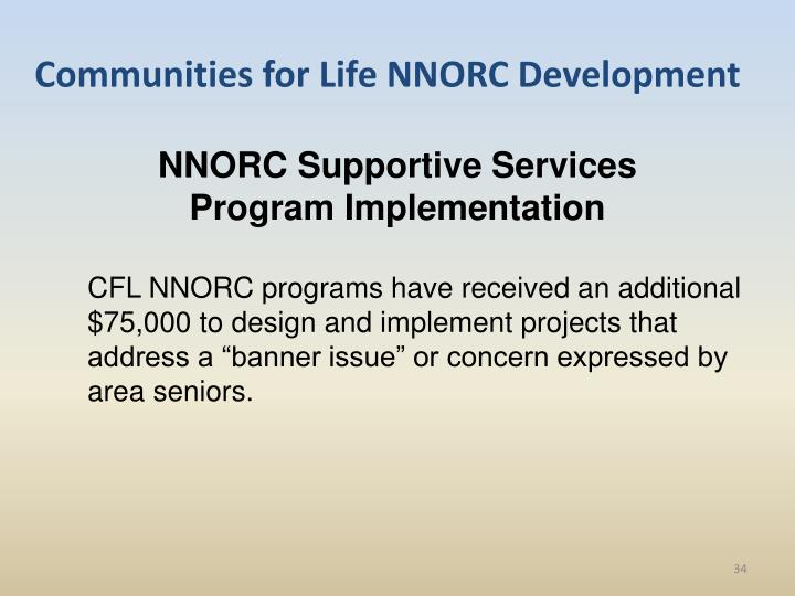 Communities for Life NNORC Development
