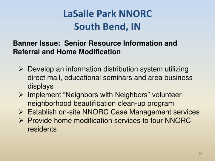 LaSalle Park NNORC