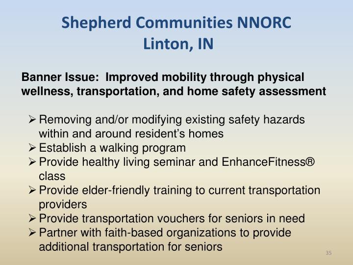 Shepherd Communities NNORC