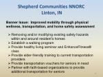 shepherd communities nnorc linton in