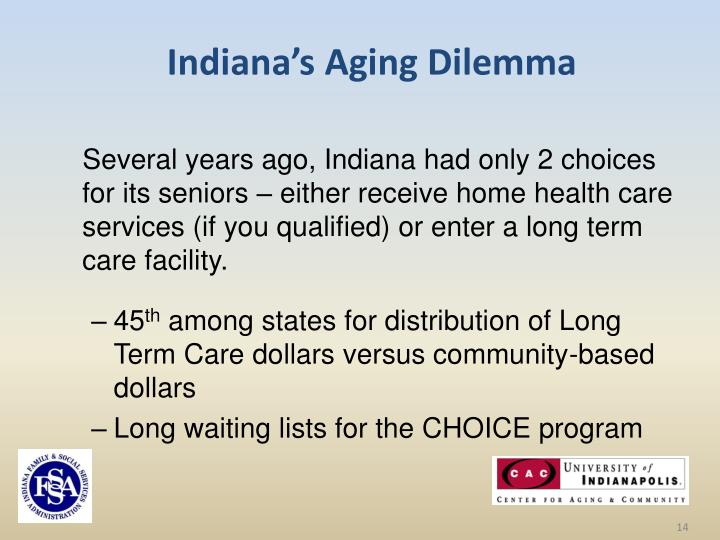 Indiana's Aging Dilemma