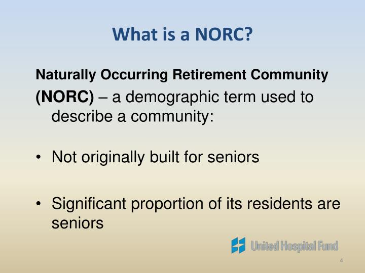 What is a NORC?