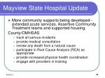 mayview state hospital update2