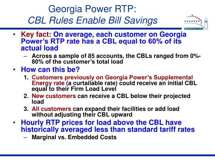 Georgia Power RTP: